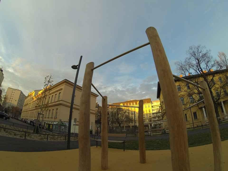 Am Tabor - Sportplatz - Trainingspark ISW - Vienna Austria - Österreich Wien Leopoldstadt - Reckstangen