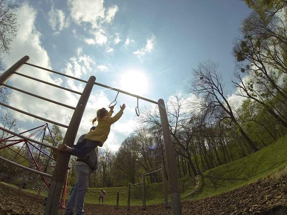 Pötzleinsdorfer Schlosspark - Trainingspark ISW - Vienna Austria - Österreich Wien - Währing - Sporteinrichtung