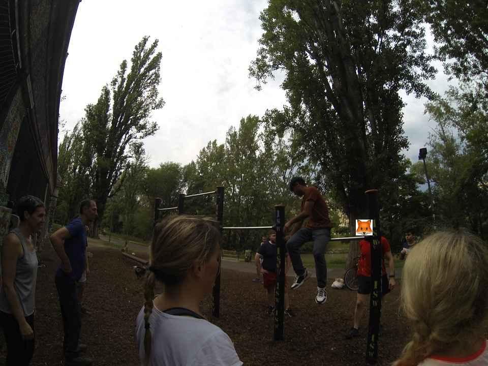 ISW EVENT - Atem-Kraft-Workout - ViennA AustriA - Roßauer Lände - Die Musen lieben die Abwechslung
