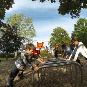 ISW + WIG + FOX Initiative Gesunde Bezirke Wien - Donauinsel Trainingspark Vienna Austria - Wissen und Macht fallen zusammen